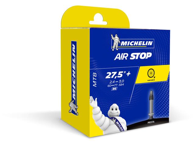 """Michelin Airstop B6 Fahrradschlauch 27.5"""" schwarz"""